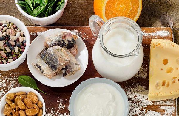 В каких продуктах много кальция кроме молочных