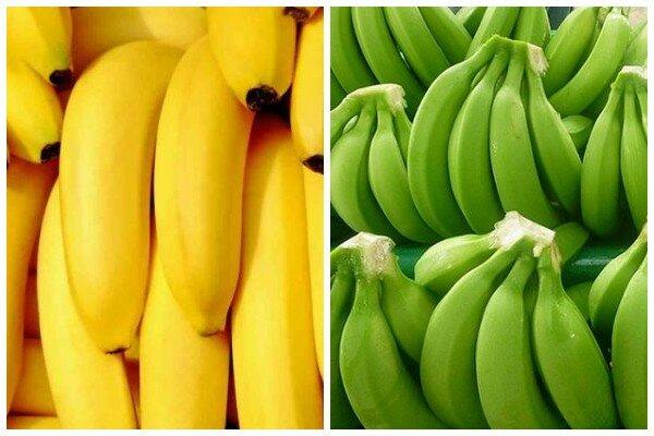 Какие бананы лучше: зеленые или желтые