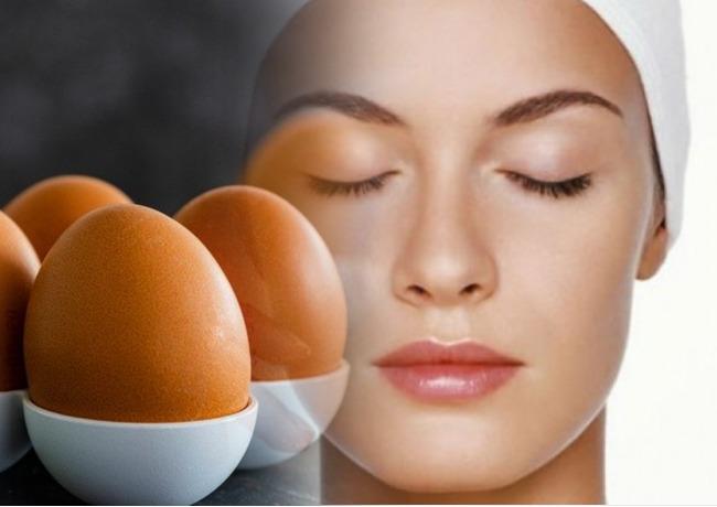 Домашние маски для лица с яйцом от морщин после 40