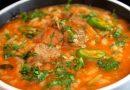 Суп харчо с рисом из говядины